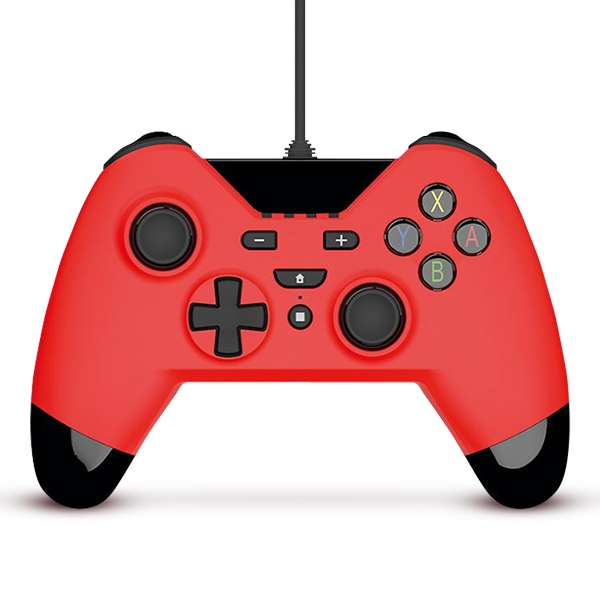 Gioteck WX-4 Wired Controller - Red for Nintendo Switch Deals
