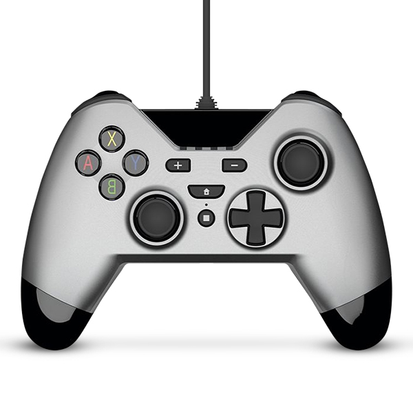Gioteck WX-4 Wired Controller - Silver for Nintendo Switch Deals