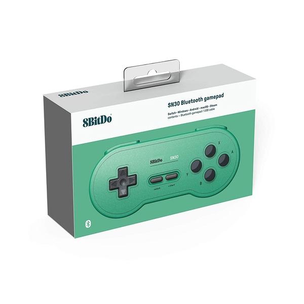 8Bitdo SN30 Gamepad - Green Edition for Nintendo Switch Deals