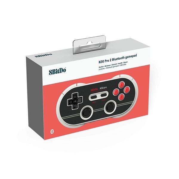 8Bitdo N30 Gamepad - Pro2 N Edition for Nintendo Switch Deals