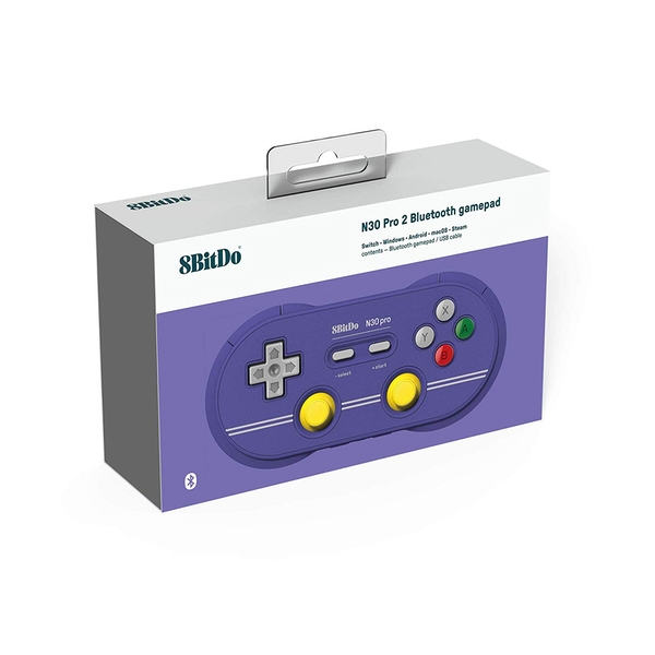 8Bitdo N30 Gamepad - Pro2 C Edition for Nintendo Switch Deals