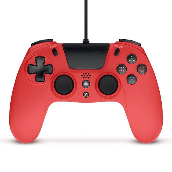Gioteck VX-4 Wired Controller - Red for PS4 Deals