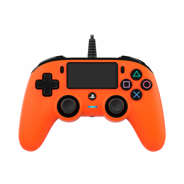 Nacon Compact Wired Controller - Orange for PS4 Deals