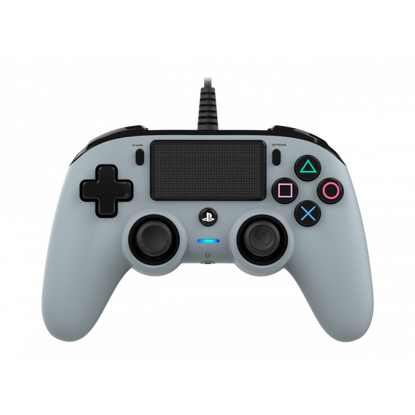 Nacon Compact Wired Controller - Grey for PS4 Deals