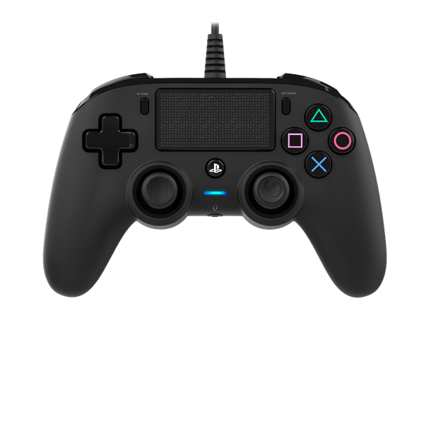 Nacon Compact Wired Controller - Black for PS4 Deals