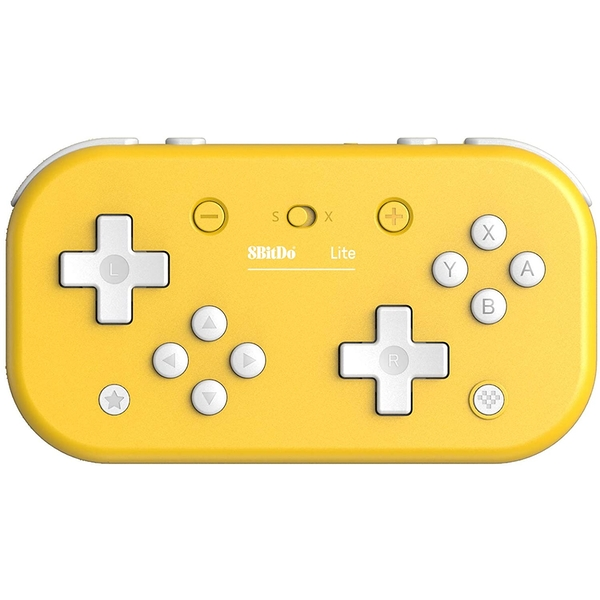 8Bitdo Lite Bluetooth Gamepad - Yellow Edition for Nintendo Switch Deals