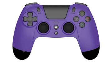 Gioteck VX-4 Wireless Controller - Purple for PS4 Deals