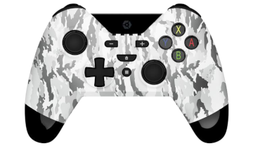 Gioteck WX-4 Wireless Controller - White Camo for Nintendo Switch Deals