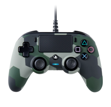 Nacon Compact Wired Controller - Green Camo for PS4 Deals