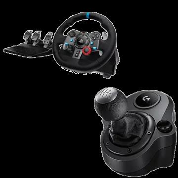 Logitech G29 Racing Wheel with Logitech Shifter Deals