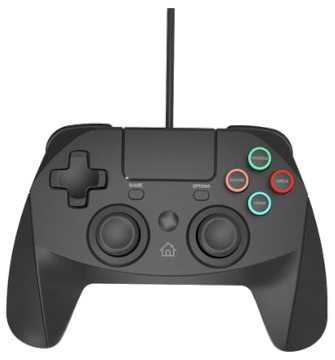 Snakebyte Gamepad Wired Controller - Black for PS4 Deals
