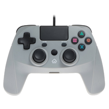 Snakebyte Gamepad Wired Controller - Grey for PS4 Deals
