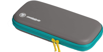 Snakebyte Carry Case  - Grey, Turquoise and Yellow for Nintendo Switch Deals