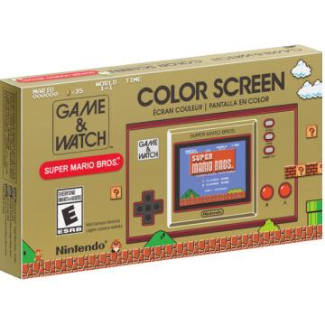Game & Watch: Super Mario Bros Console