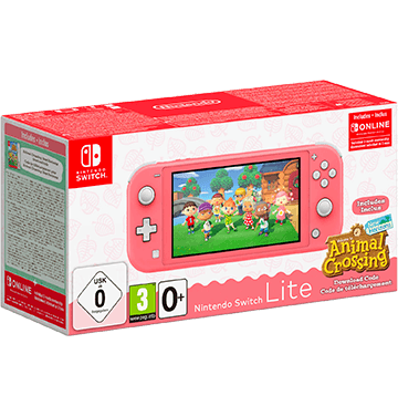 Nintendo Switch Lite: Coral Inc Animal Crossing Deals