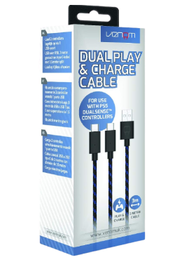 Venom Dual Play and Charge Cable for PS5 Deals