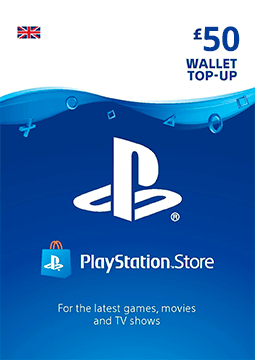 £50 PlayStation Network Wallet Top Up