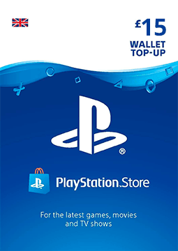 £15 PlayStation Network Wallet Top Up