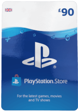 £90 PlayStation Network Wallet Top Up