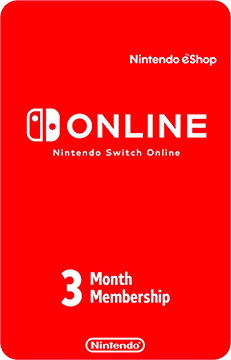 Nintendo Switch Online Membership - 3 Months