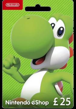 Nintendo eShop £25 Gift Card