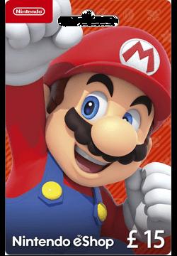 Nintendo eShop £15 Gift Card