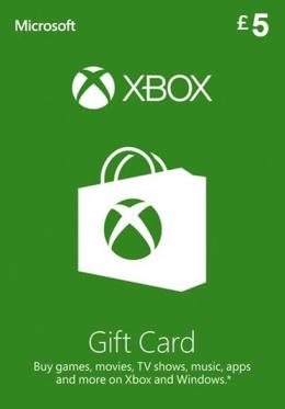 £5 Xbox Live Gift Card