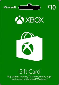 £10 Xbox Live Gift Card