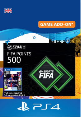 FIFA 21 500 FUT Points Pack - PlayStation UK