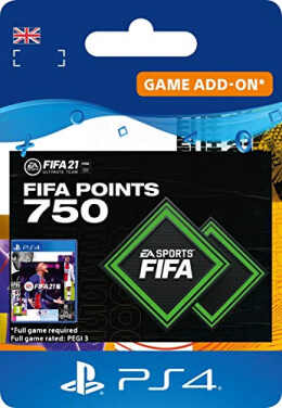 FIFA 21 750 FUT Points Pack - PlayStation UK