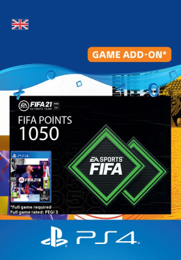 FIFA 21 1050 FUT Points Pack - PlayStation UK