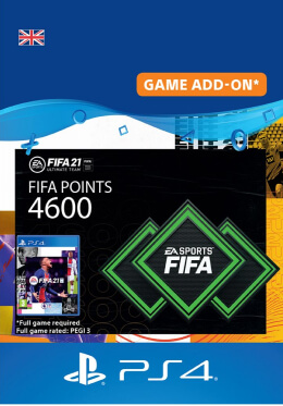 FIFA 21 4600 FUT Points Pack - PlayStation UK