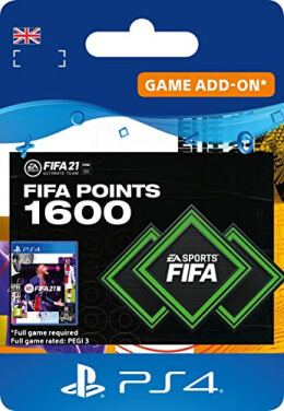 FIFA 21 1600 FUT Points Pack - PlayStation UK