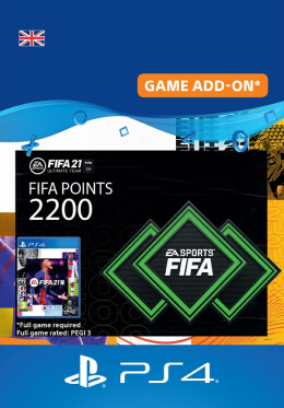 FIFA 21 2200 FUT Points Pack - PlayStation UK