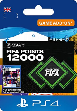 FIFA 21 12000 FUT Points Pack - PlayStation UK
