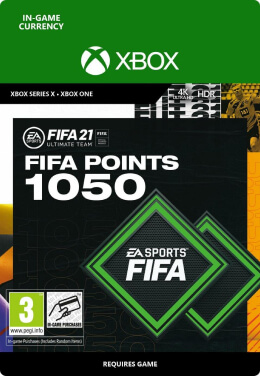 FIFA 21 1050 FUT Points Pack - Xbox