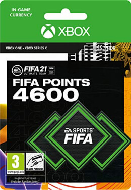 FIFA 21 4600 FUT Points Pack - Xbox