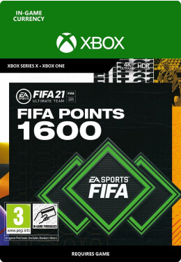 FIFA 21 1600 FUT Points Pack - Xbox