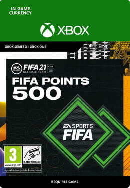 FIFA 21 500 FUT Points Pack - Xbox