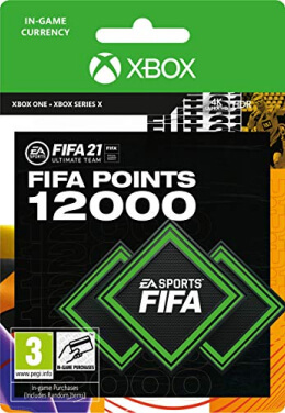 FIFA 21 12000 FUT Points Pack - Xbox