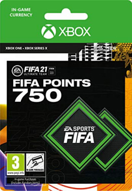FIFA 21 750 FUT Points Pack - Xbox