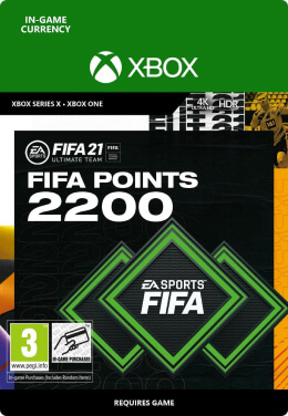 FIFA 21 2200 FUT Points Pack - Xbox