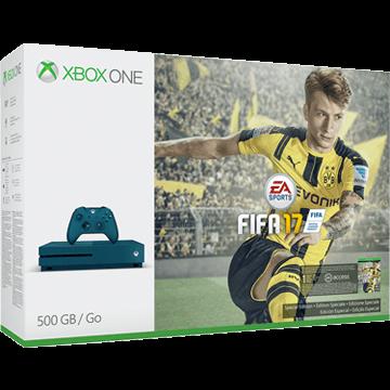 Xbox One S 500GB: FIFA 17 Blue Deals
