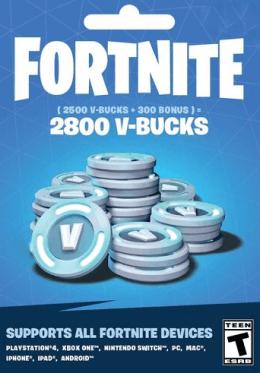Fortnite 2800 V-Bucks