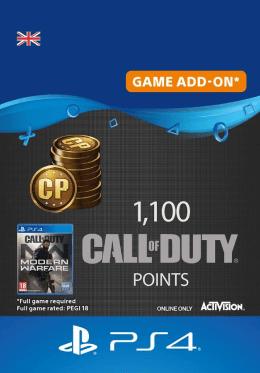 Call of Duty: Modern Warfare 1100 Points - PlayStation UK