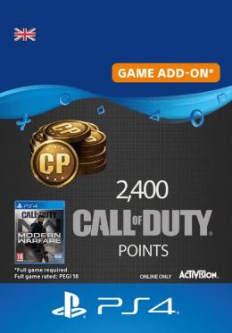 Call of Duty: Modern Warfare 2400 Points - PlayStation UK