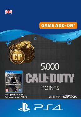Call of Duty: Modern Warfare 5000 Points - PlayStation UK