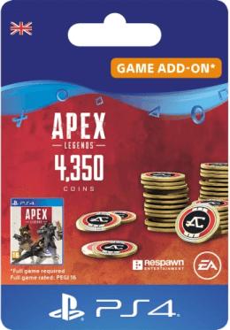 Apex Legends 4350 Apex Coins - PlayStation UK