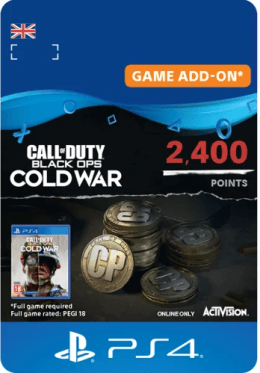 Call of Duty: Black Ops Cold War 2400 Points - PlayStation UK