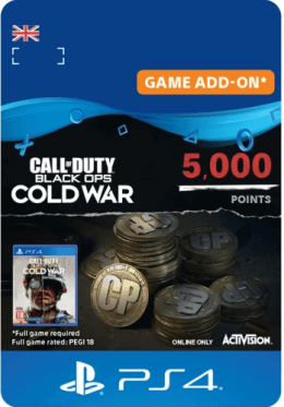 Call of Duty: Black Ops Cold War 5000 Points - PlayStation UK